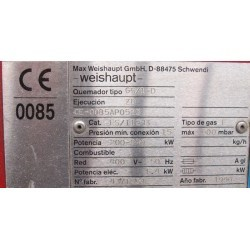 Quemador de gas natural Weishaupt Monarch G5/1D-ZD