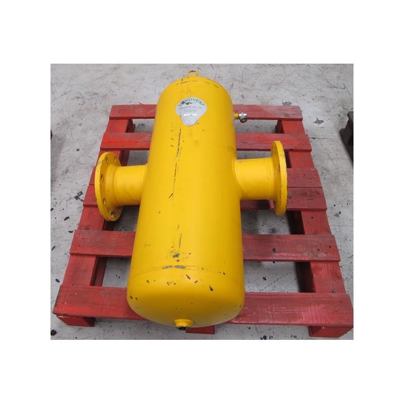 Separador de microburbujas de aire y lodos en línea SpiroCombi