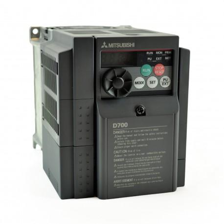 Variador de frecuencia monofásico FR-D720S-008SC-EC