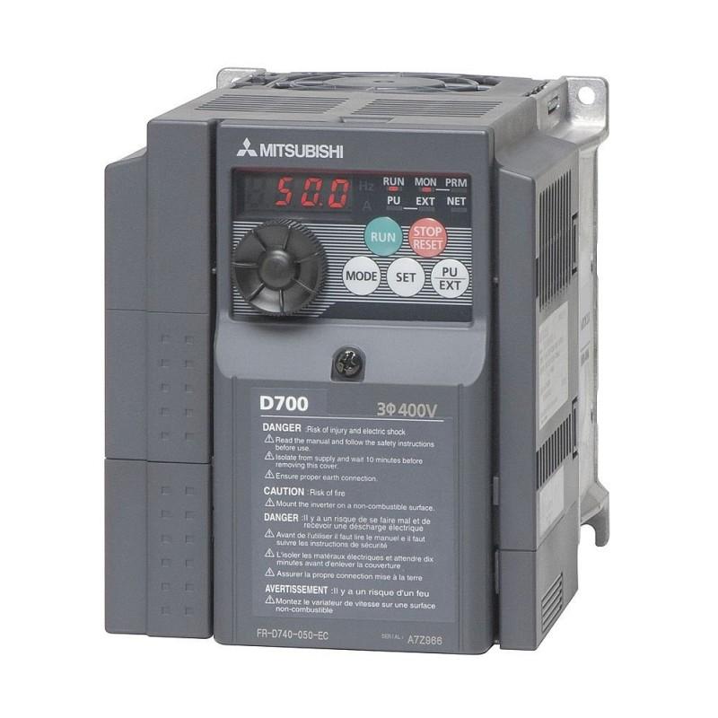 Variador de frecuencia trifásico Mitsubishi D740-022SC 0,75kw