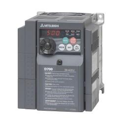 Variador de frecuencia trifásico D740-050SC 3cv