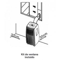 Aire acondicionado portatil Mundoclima MUPO-12-H6