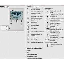 Termostato programable semanal Siemens RDE 100