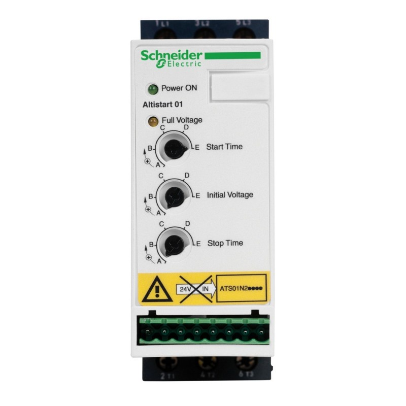 Arrancador suave Schneider Altistart 01 1,5kW