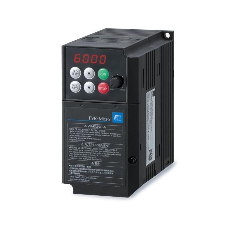 FVR0.4AS1S-7E | Variador de frecuencia monofásico Fuji Micro 0,4kw