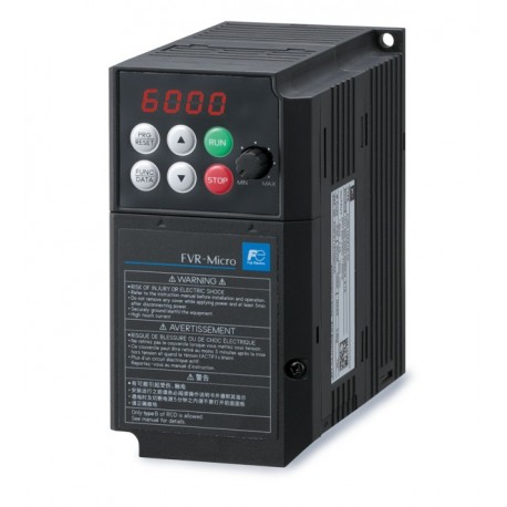 FVR2.2AS1S-7E | Variador de frecuencia monofásico Fuji Micro 2,2kW