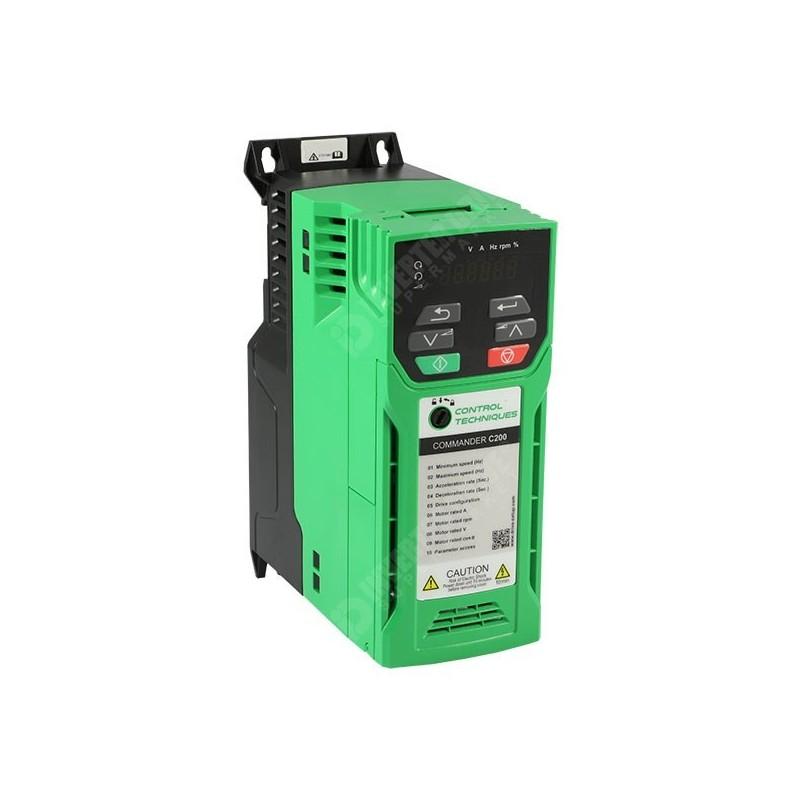 C200-022-00075A   Variador de frecuencia monofásico Commander 1,5kW