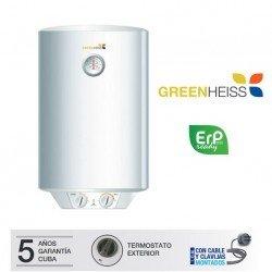 Termo eléctrico Greenheiss FIVE ERP
