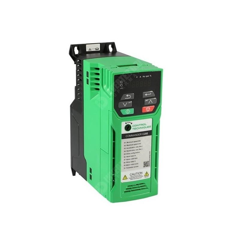 C200-024-00013A   Variador de frecuencia trifásico Commander 0,37kW