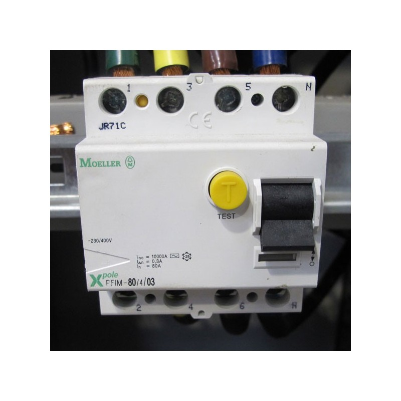 Interruptor diferencial Moeller PFIM-80/4/03