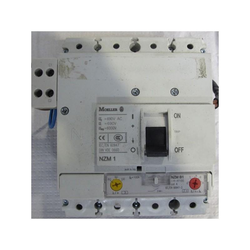 Interruptor automático Moeller NZM B1