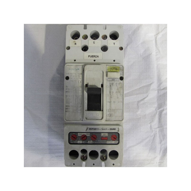Interruptor automático Siemens 3VF4