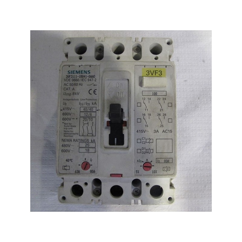 Interruptor automático Siemens 3VF3