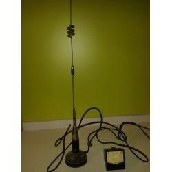 Antena radioaficionados para el coche