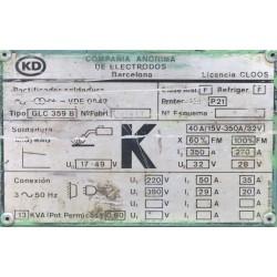 Equipo de soldadura de hilo continuo Kd