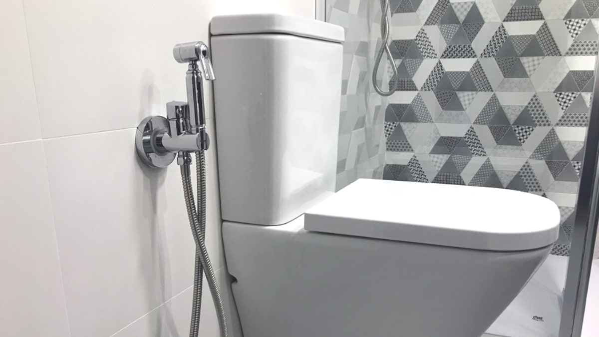 Grifos para el inodoro, Kit WC + Bidé