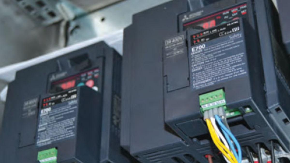 Ahorro de energía con variadores de frecuencia