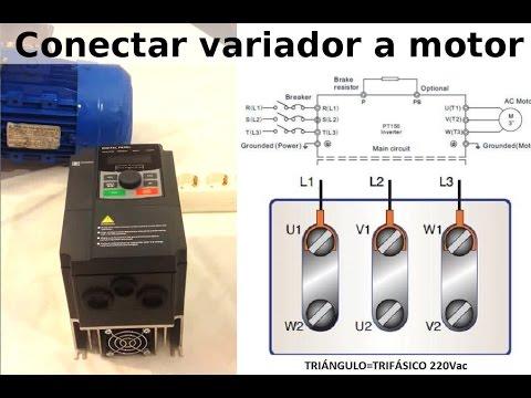 conexion red monofásica a motor trifásico