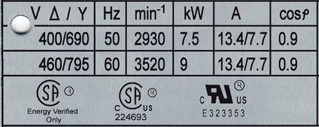 motor trifásico 400-690