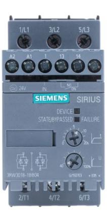 Arrancador suave Siemens Sirius 3RW30