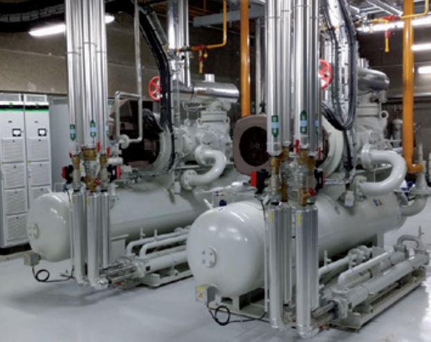 Motores síncronos Dyneo+ en refrigeración