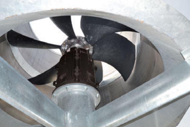 Motores síncronos Dyneo+ en ventilación