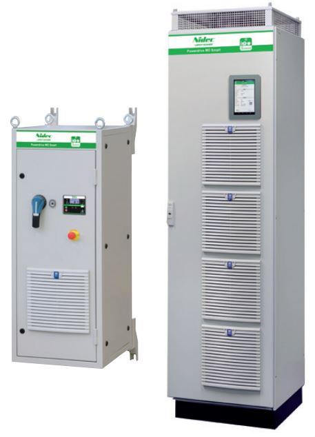Variadores de frecuencia Powerdrive MD2 y MD Smart