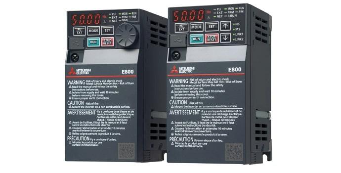 Nuevos Variadores de Frecuencia FR-E800 de Mitsubishi Electric