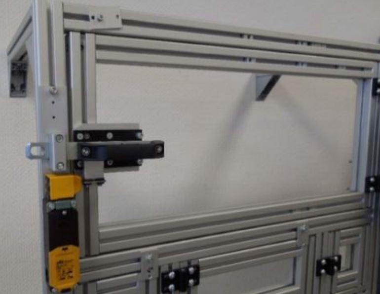 Montaje cerrojo de seguridad PILS PSEN ME1S/1AS
