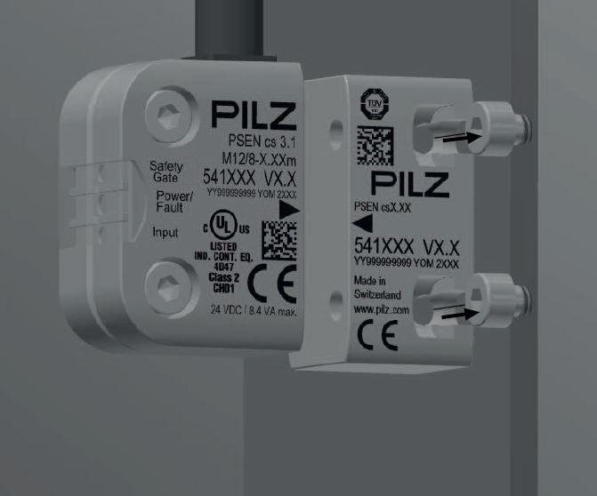Montaje interruptor de seguridad PILS PSEN CS3.1