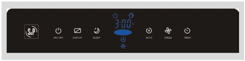 display purificador de aire airpur 2n soler y palau