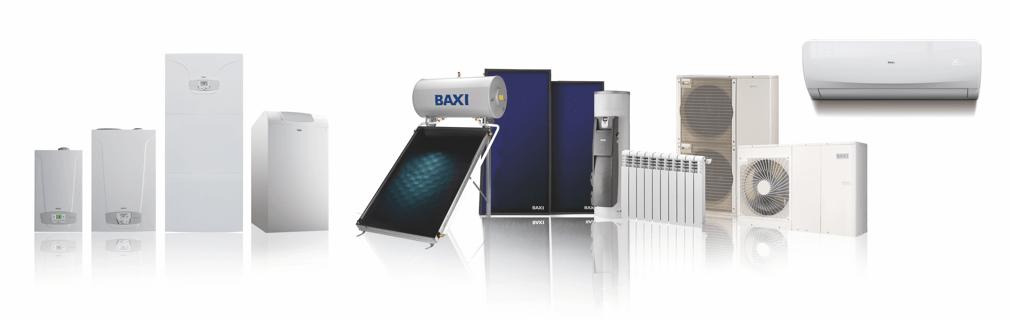 Productos calefacción y refrigeración BAXI