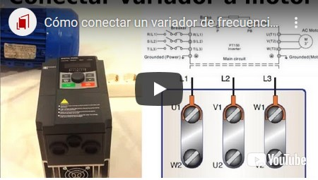 Cómo conectar un variador de frecuencia