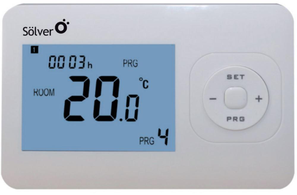 Cronotermostato digital frio/calor solver s2