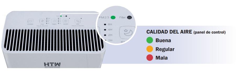 purificador de aire con ionizador clean htw