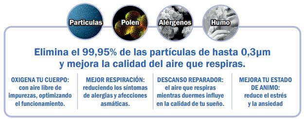 purificadores de aire propiedades