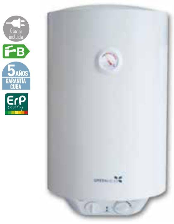 Termos eléctricos verticales y horizontales Greenheiss FIVE