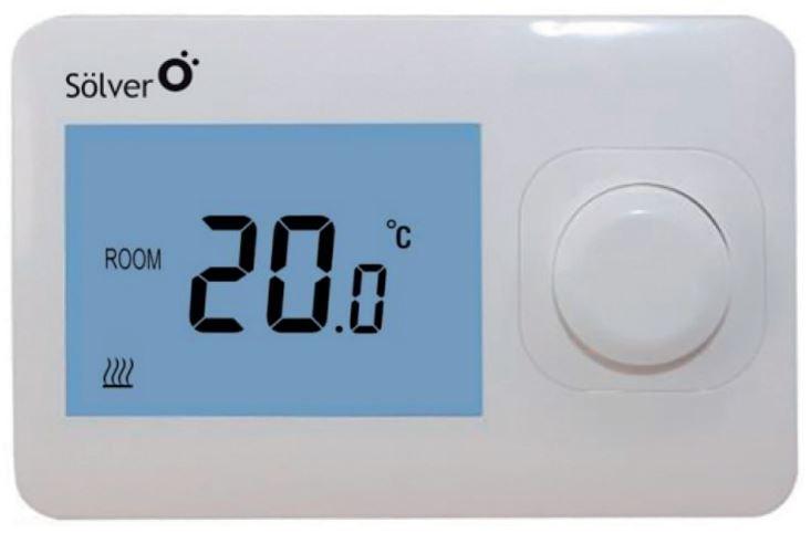 Termostato digital sencillo frio/calor solver s2