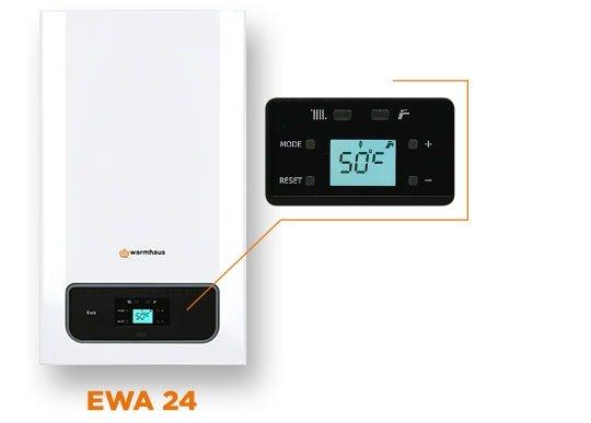 Caldera de gas mural condensación Ewa 24/26 ErP
