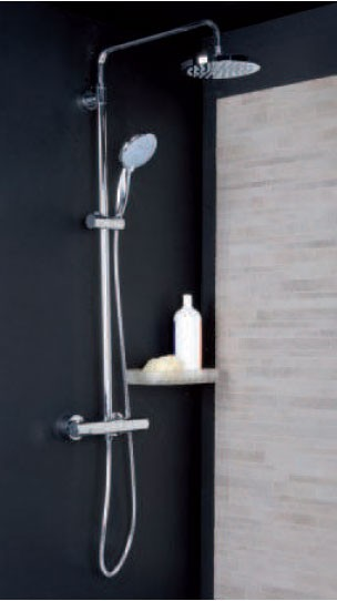 Conjunto termostático CAPRI ducha